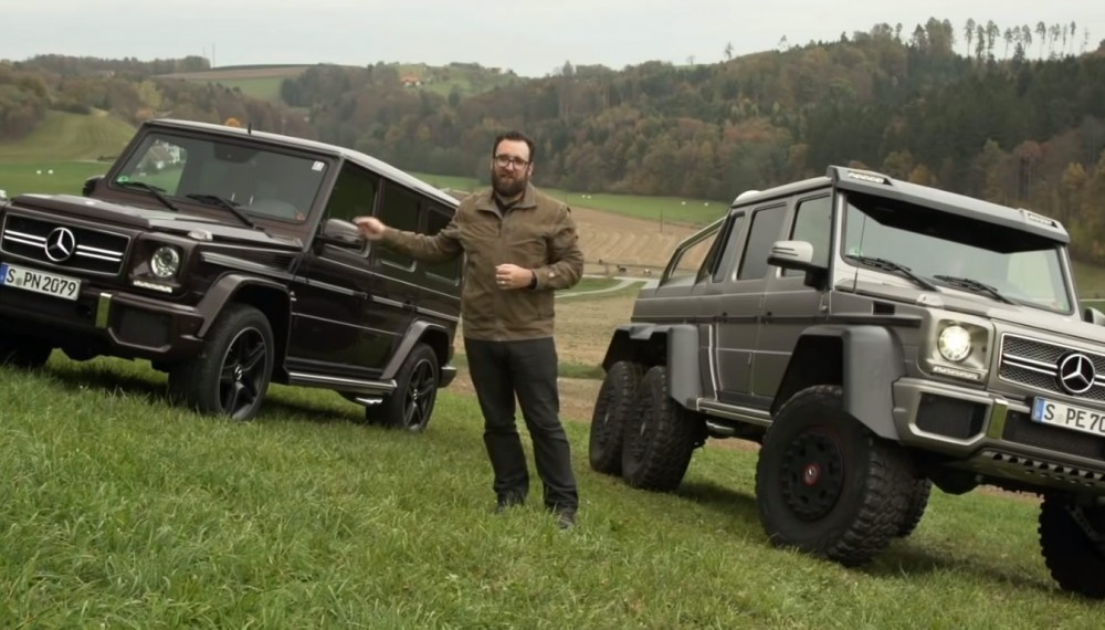 Mercedes G63 AMG and 6x6 Go Head to Head - Video