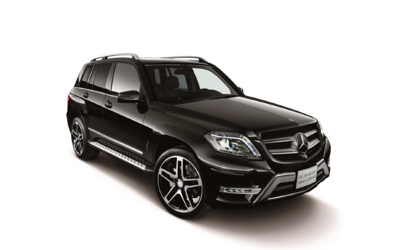 Mercedes-Benz GLK 350 4Matic Special Edition Schwarz