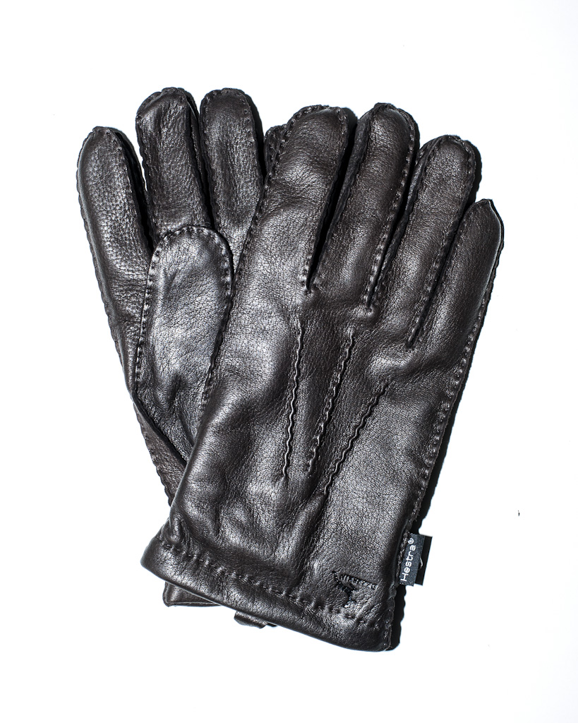 MENS ZIPPER MOTORCYCLE PUFFY GLOVES BUTTER SOFT LAMB SKIN LINED WATER PROOF