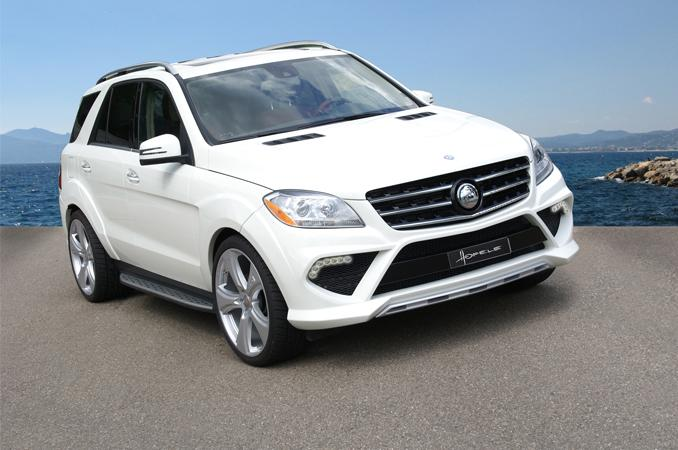 Mercedes-Benz ML-Class Receives Widebody Kit and Power Upgrade from Hofele Design