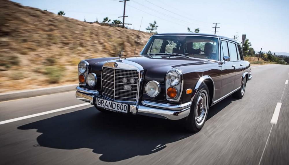 Jay Leno 1972 Mercedes-Benz 600 Kompressor