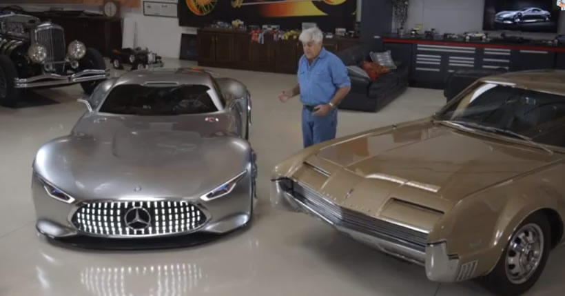 Real Cars Go Virtual in Jay Leno's Garage