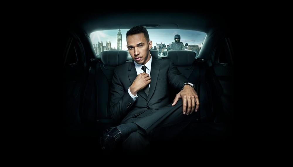 Lewis Hamilton Suit and Tie