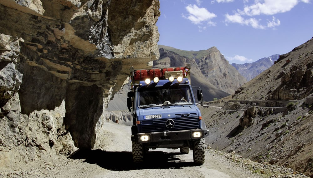 A thrilling drive through the Spiti Valley in Himachal Pradesh.