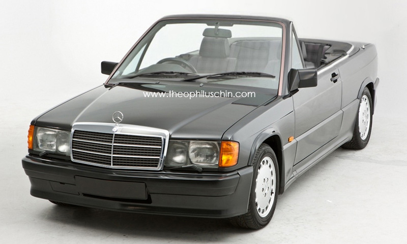 Mercedes 190E as a Cabriolet | eMercedesBenz