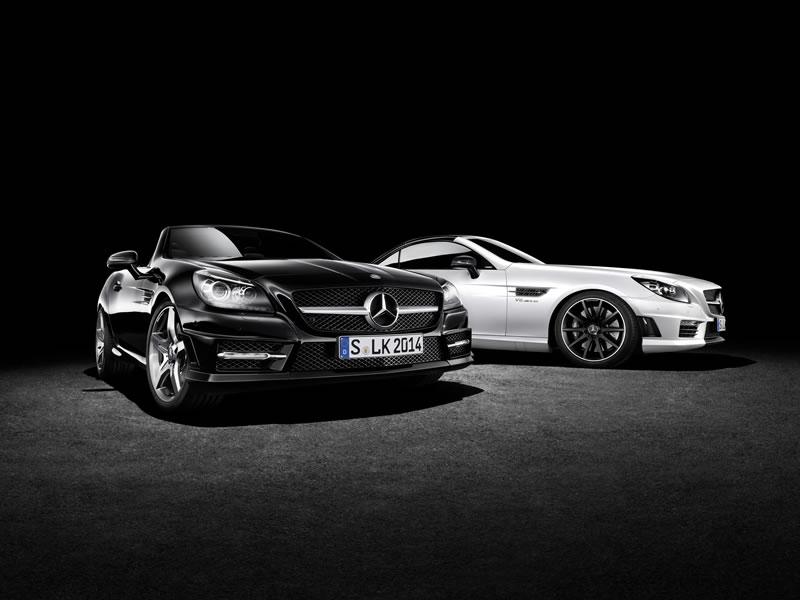 Mercedes-Benz SLK and SLK 55 AMG CarbonLOOK Edition