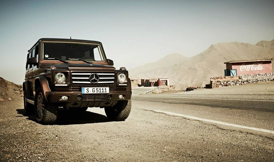 Mercedes G-Class Mission to Mars