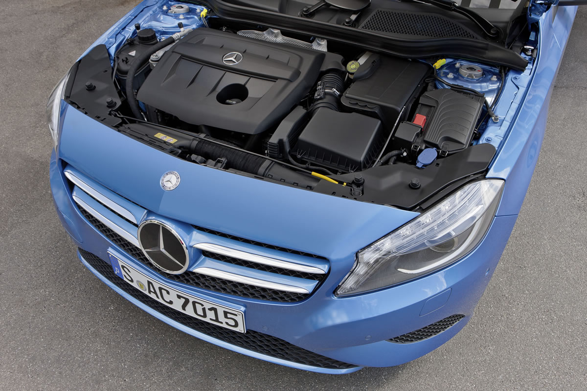 The Diesel Engines in the New Mercedes-Benz A-Class