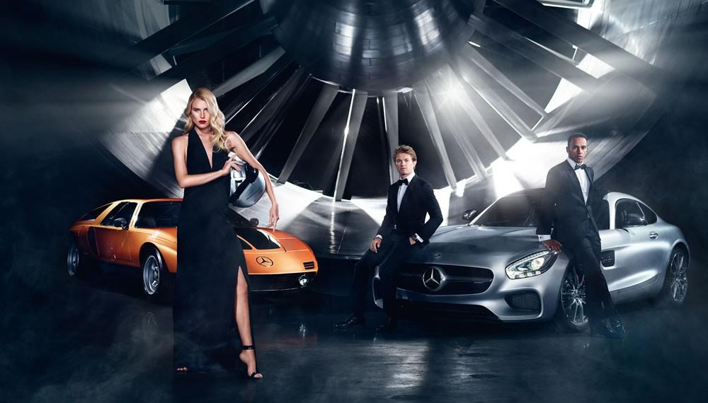 Champions of Fashion - International Mercedes-Benz fashion campaign – Autumn/Winter 2015.