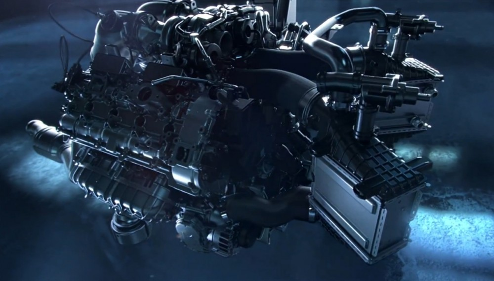 Mercedes AMG GT to Receive Twin-Turbocharged 4.0-liter V-8 - Video