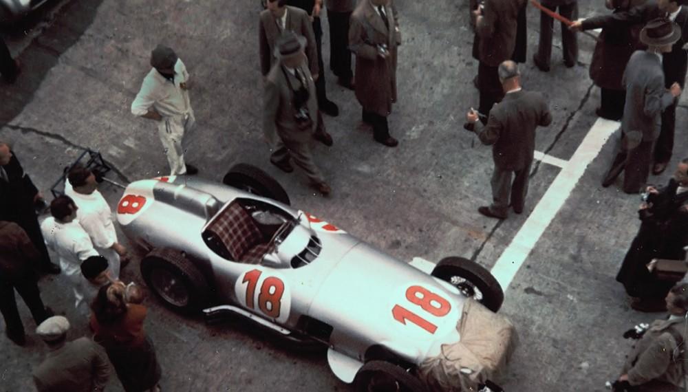 Mercedes W 196 R Formula 1 race car