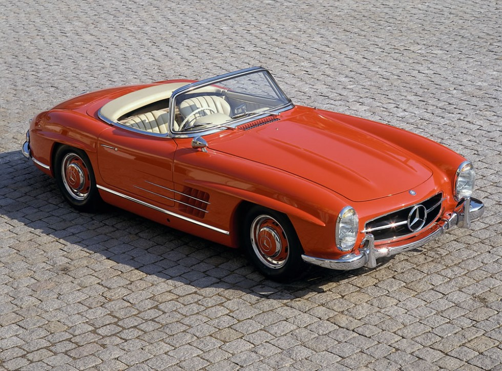 Mercedes-Benz 300 SL Roadster (W 198 II series, 1957 to 1963), 1960