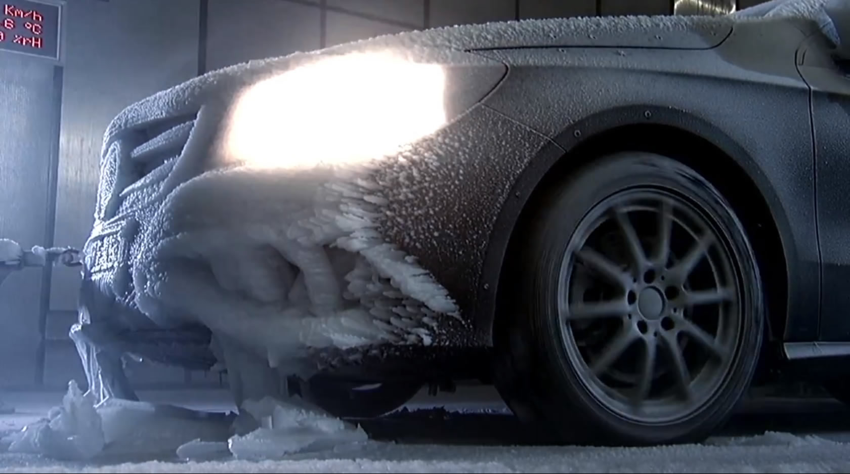 Mercedes-Benz Cold Weather Testing