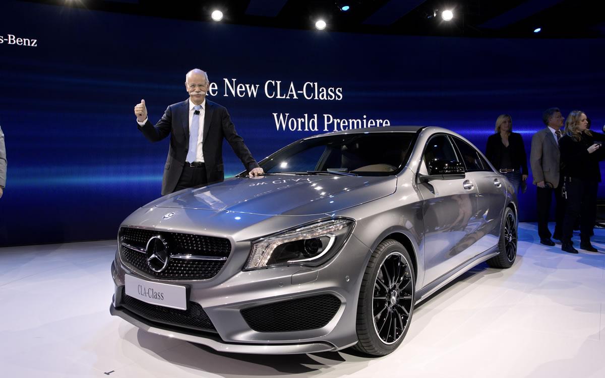 Dieter Zetsche CLA-Class