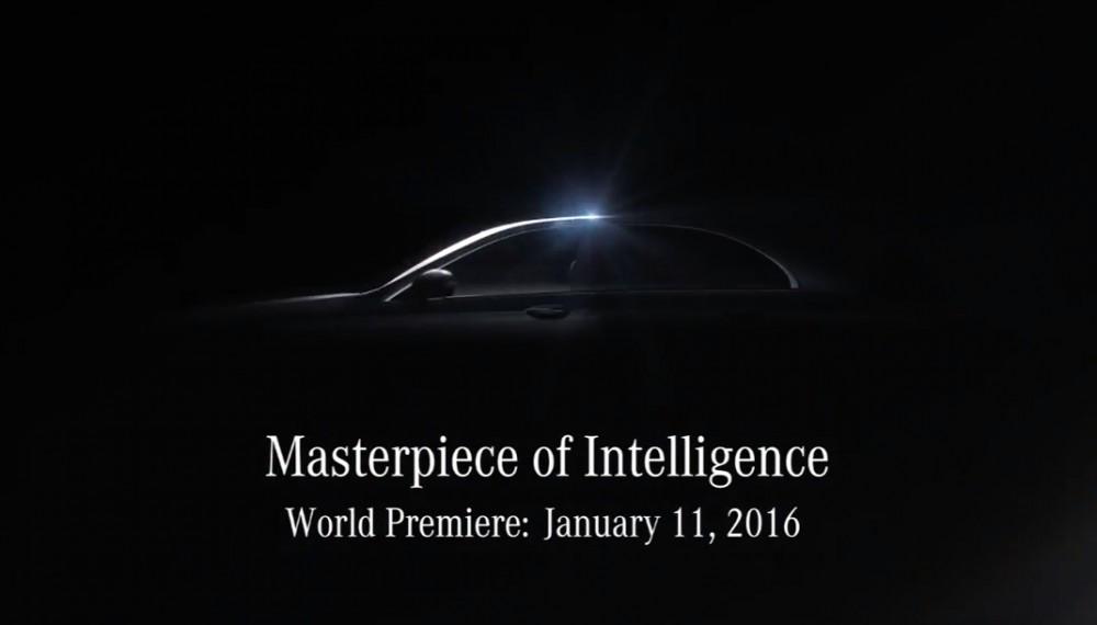 Mercedes-benz e-class teaser photo