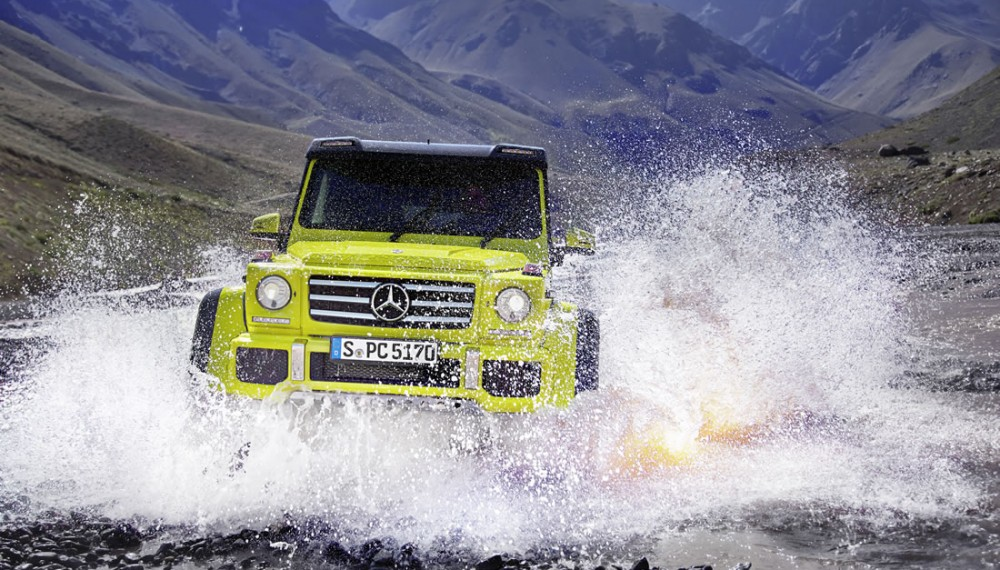 Mercedes-Benz G 500 4x4² Takes on Earth's Harshest Terrain in New Video