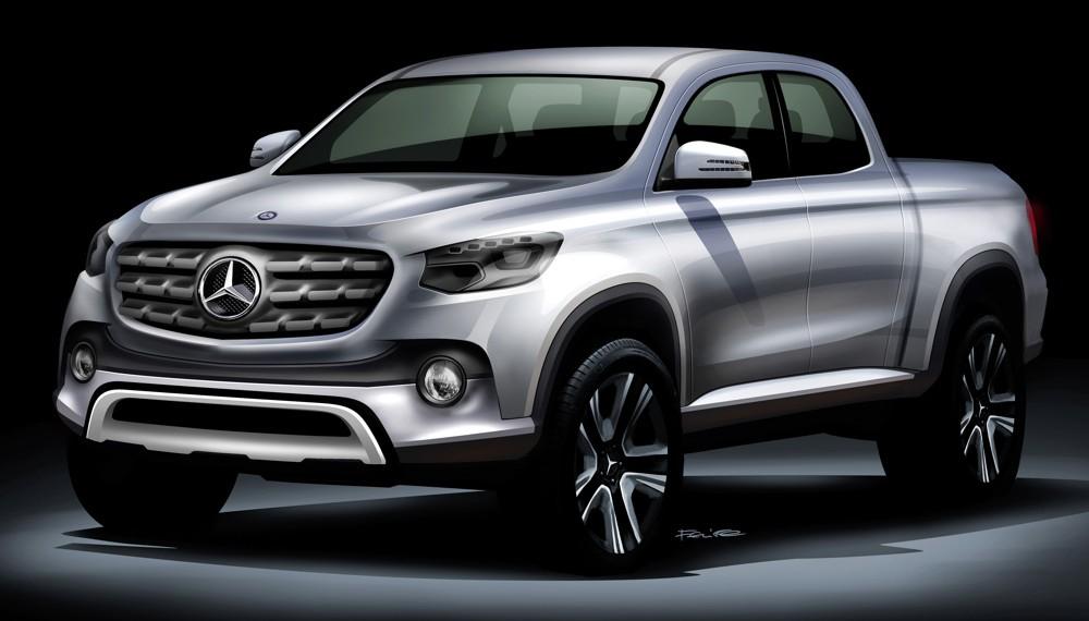 Mercedes-Benz Pickup Truck