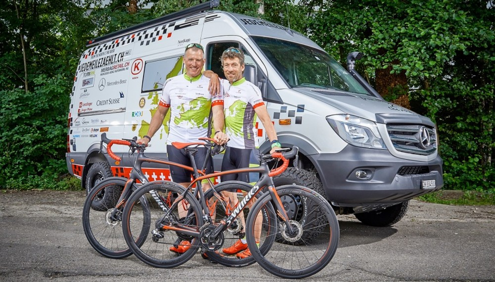 Every Mile Counts- Mercedes-Benz Sprinter Rides Alongside Epic Journey for Charity