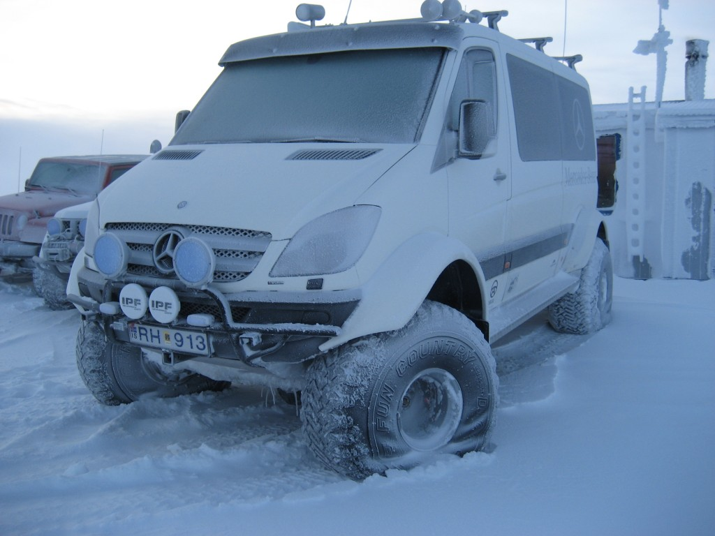 Mercedes-Benz Sprinter Modified Icelandic Style