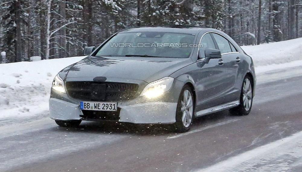 2015 Mercedes-Benz CLS Spy Photo