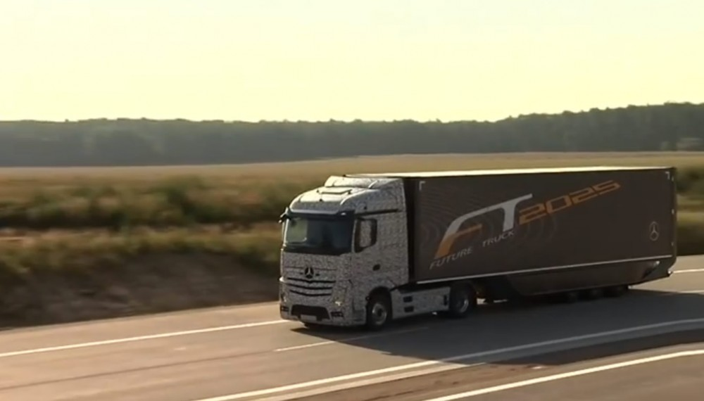 Truck of the Future is a Mercedes-Benz - Video
