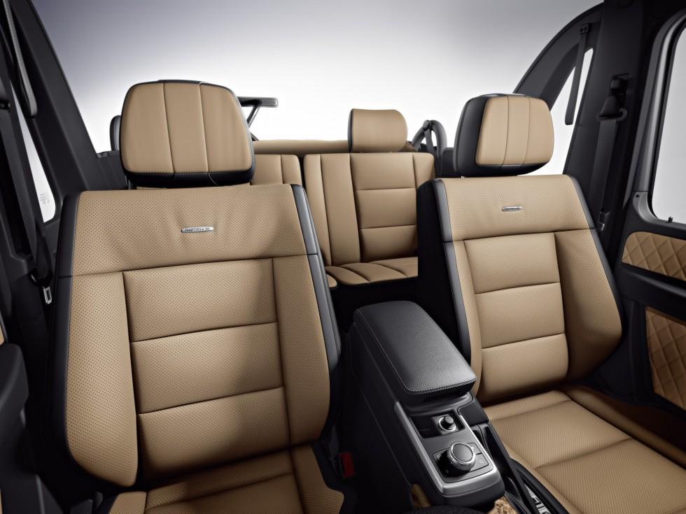 Mercedes G-Class Final Edition Interior