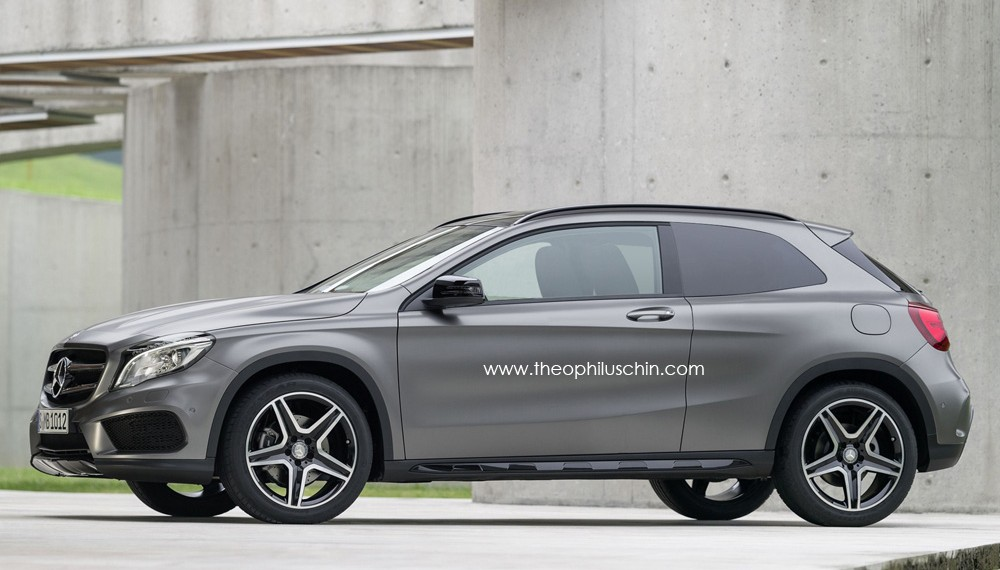 2015 Mercedes GLA three-door