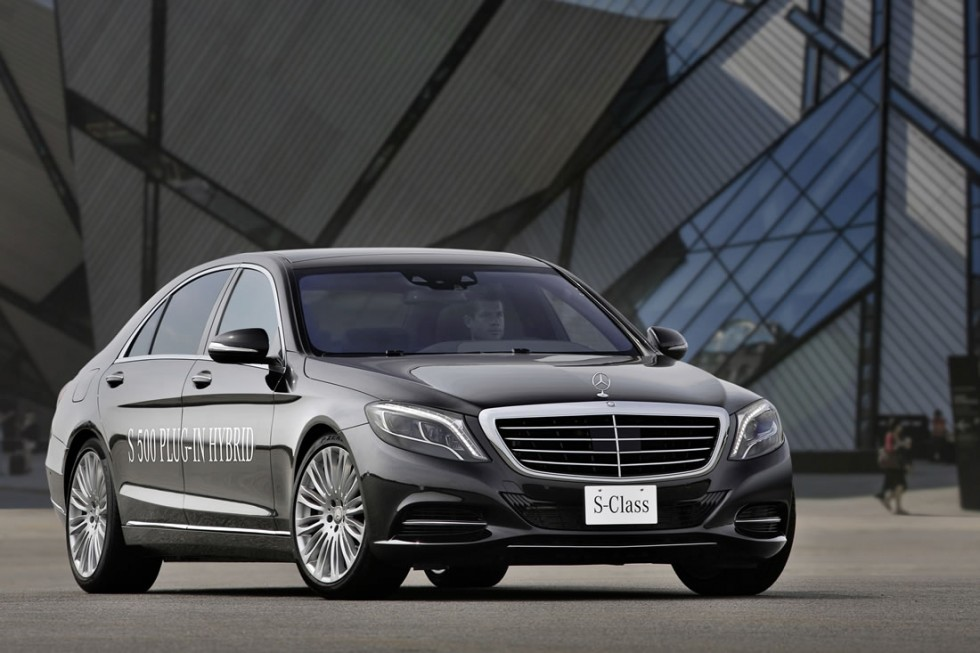 2014 Mercedes S500 Plug-In Hybrid Exterior