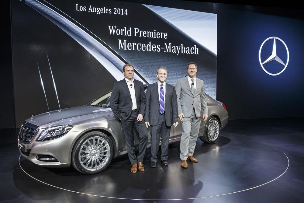 Mercedes-Benz at Auto Guangzhou and the 2014 LA Auto Show