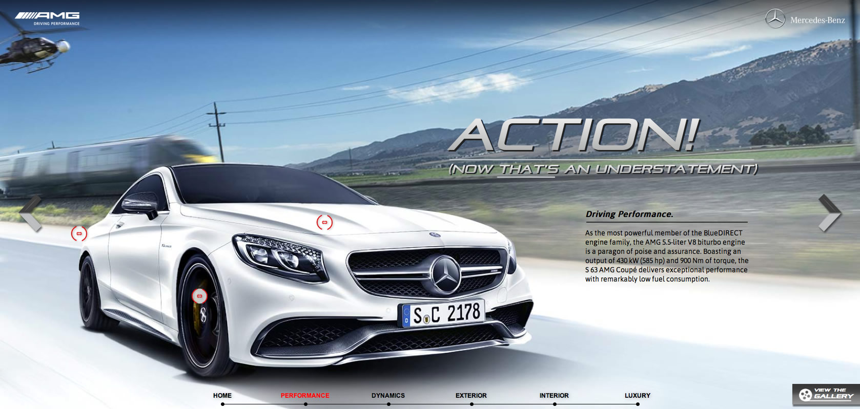 Mercedes S63 AMG Coupe Web Special