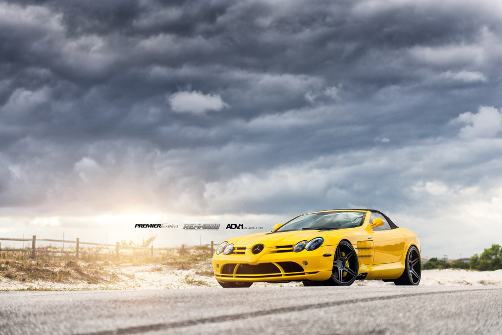 Renntech SLR Convertible Yellow