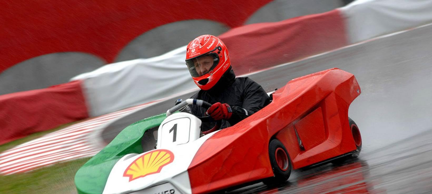 Michael Schumacher Karting