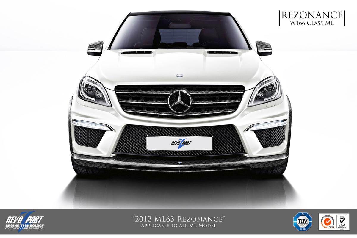 Mercedes ML63 AMG Rezonance by RevoZport