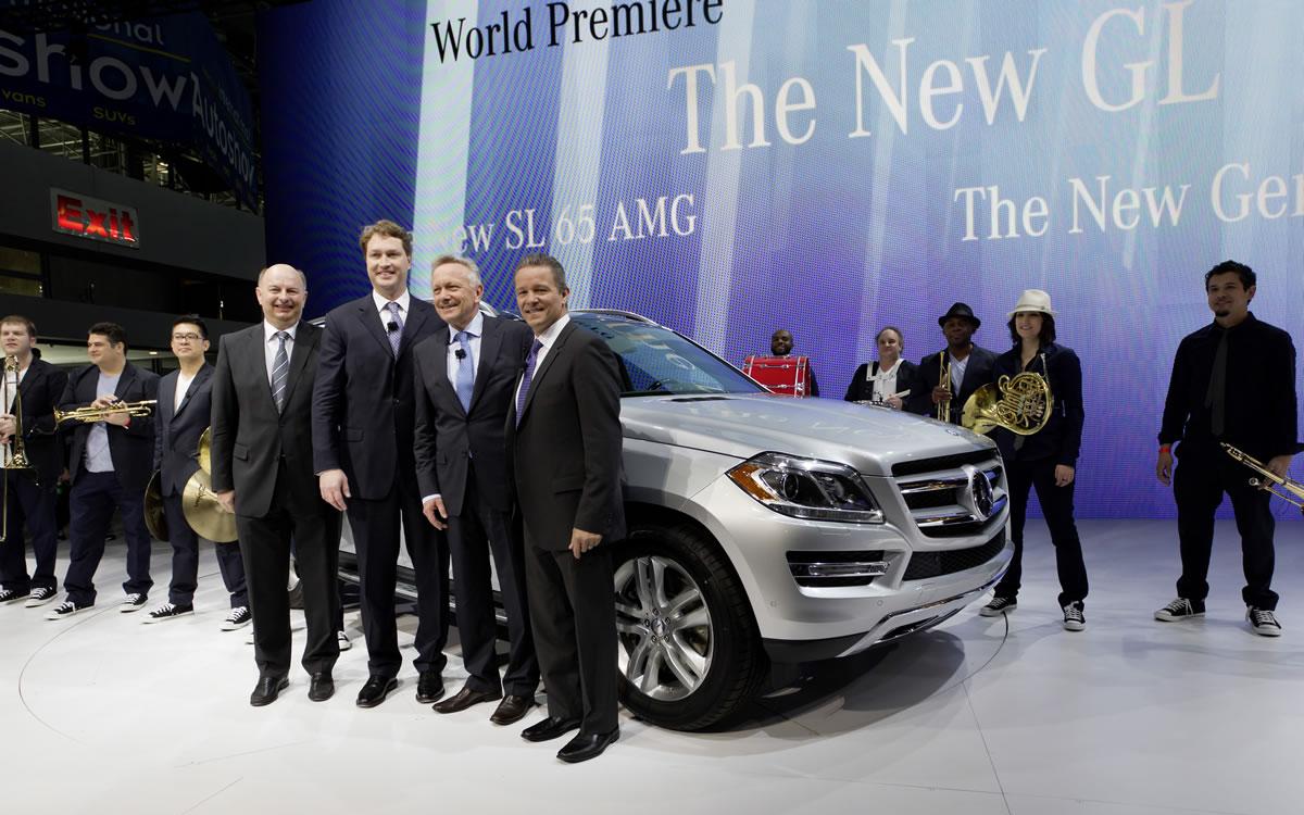 Mercedes-Benz New York Auto Show GL-Class