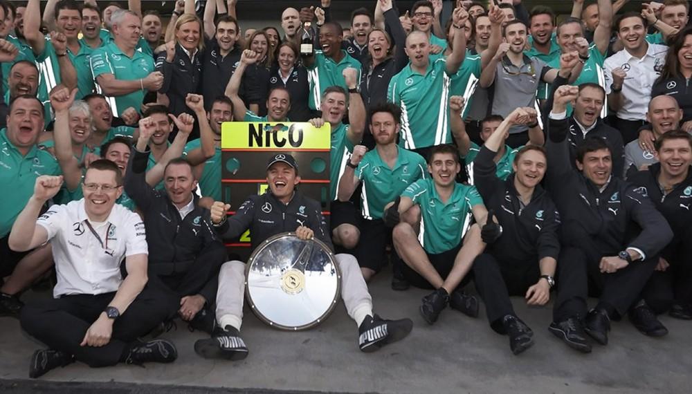 Winning Start to the Season for Mercedes AMG Petronas