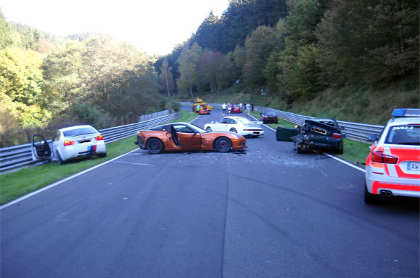 Top Crashes at the Nürburgring - Video