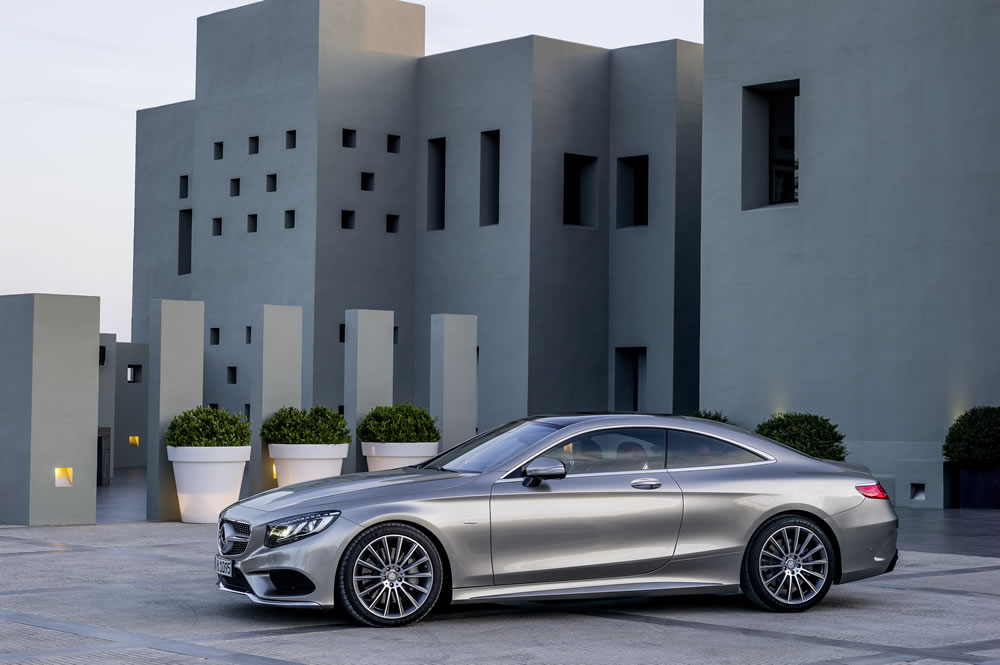 Mercedes-Benz S-Class Coupe - Exterior