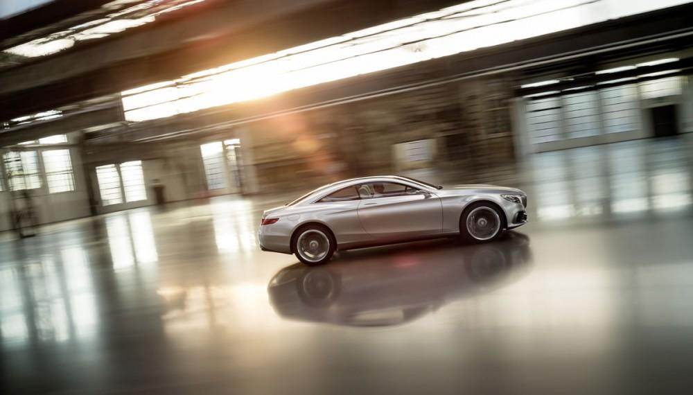 2015 Mercedes S-Class Coupe Concept