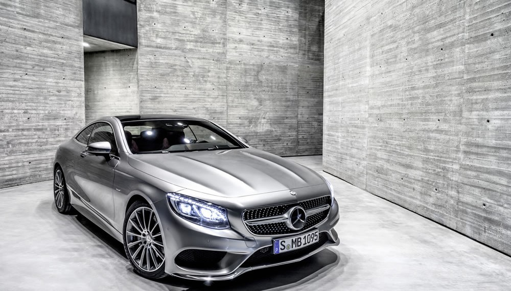 S-Class Coupé – Europe's Dream Car