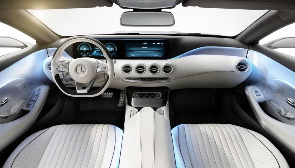 Mercedes-Benz S-Class Coupe Concept Interior