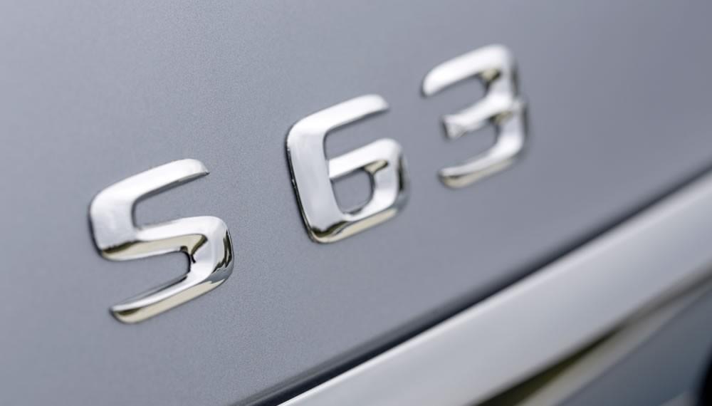 2014 Mercedes S63 AMG badge