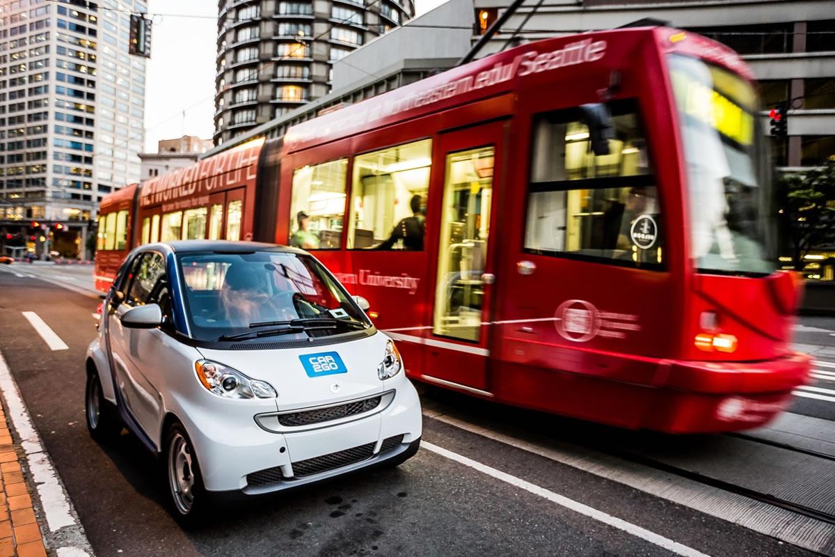seattle washington smart car