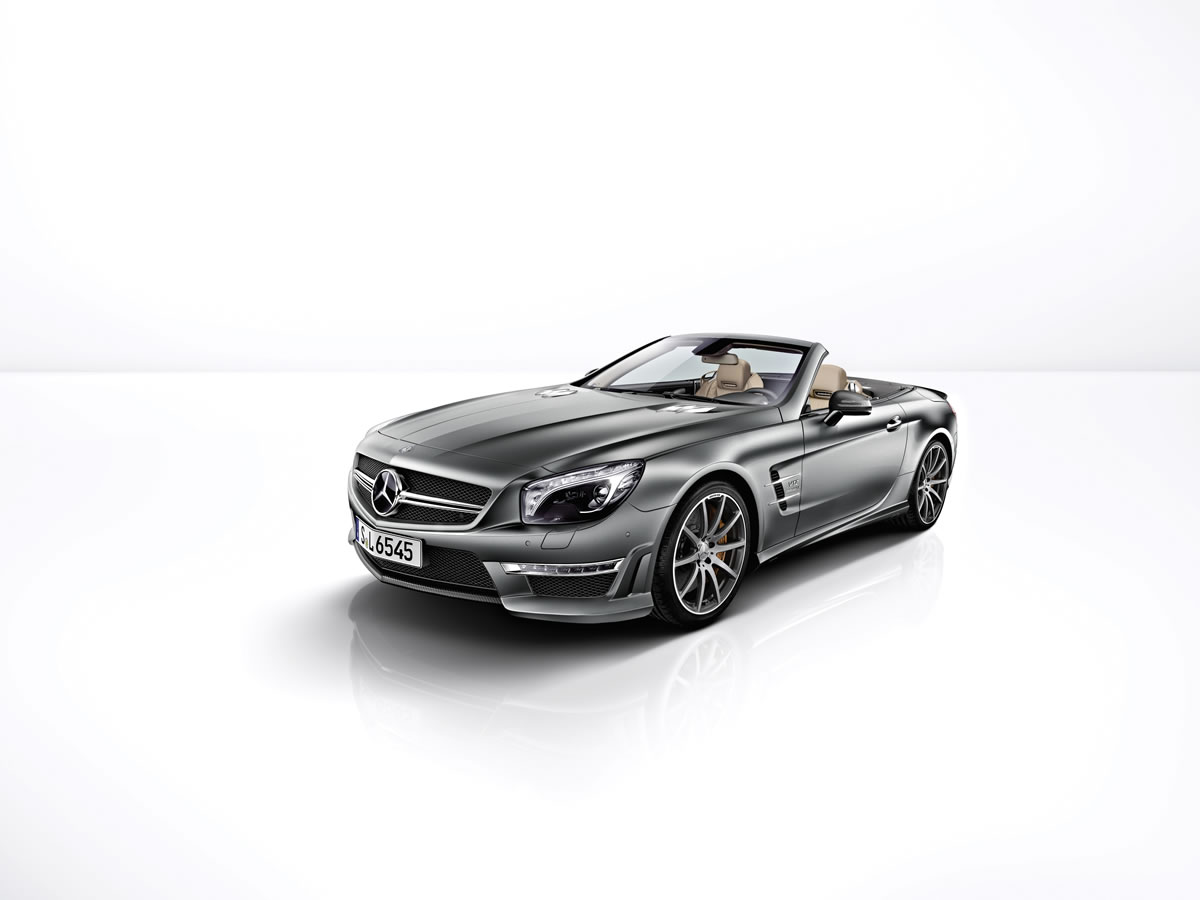 Mercedes SL65 AMG 45th Anniversary Edition grille
