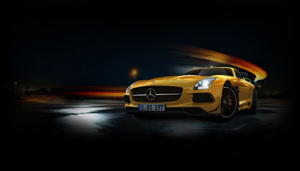 Mercedes SLS AMG Black Series Faces Off with SRT Viper