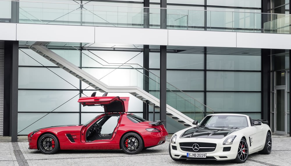 SLS AMG Final Edition Photo Gallery and Details