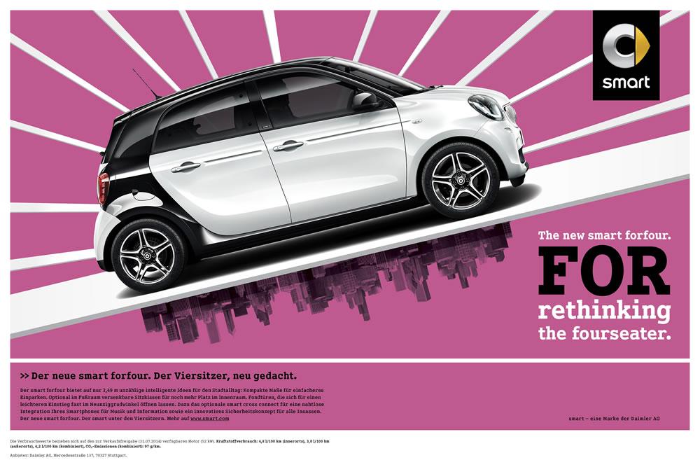 smart forfour launch campaign 2014