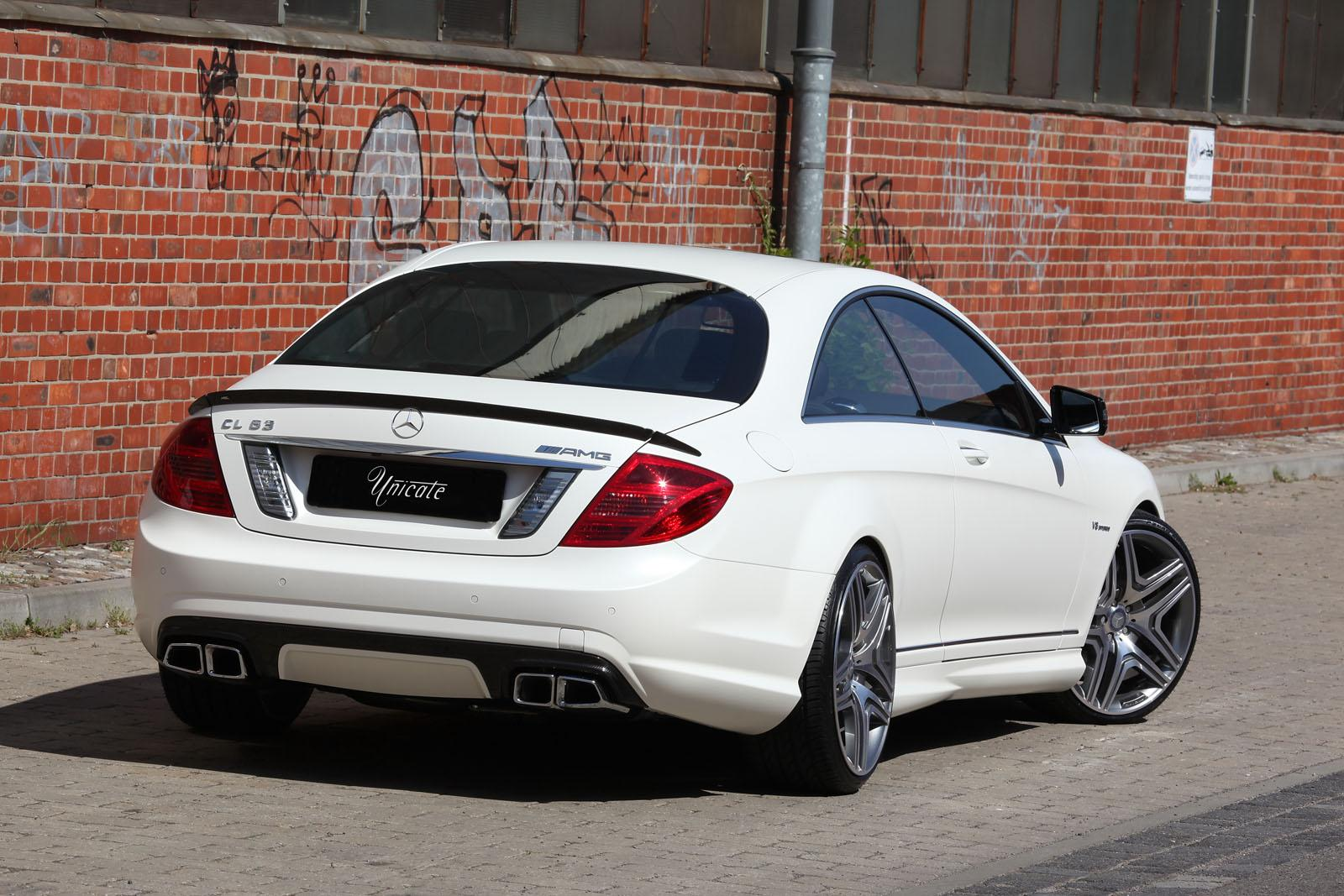 Mercedes Cl63 Amg Tuned By Unicate