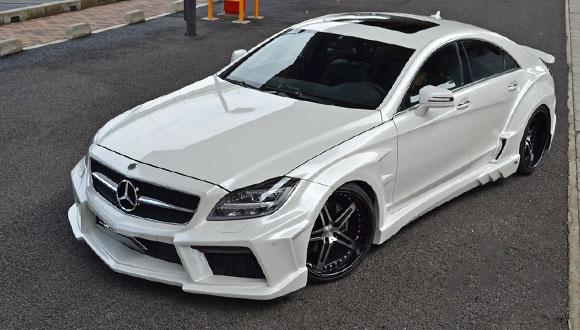 Mercedes-Benz CLS by Japanese Tuner Vitt