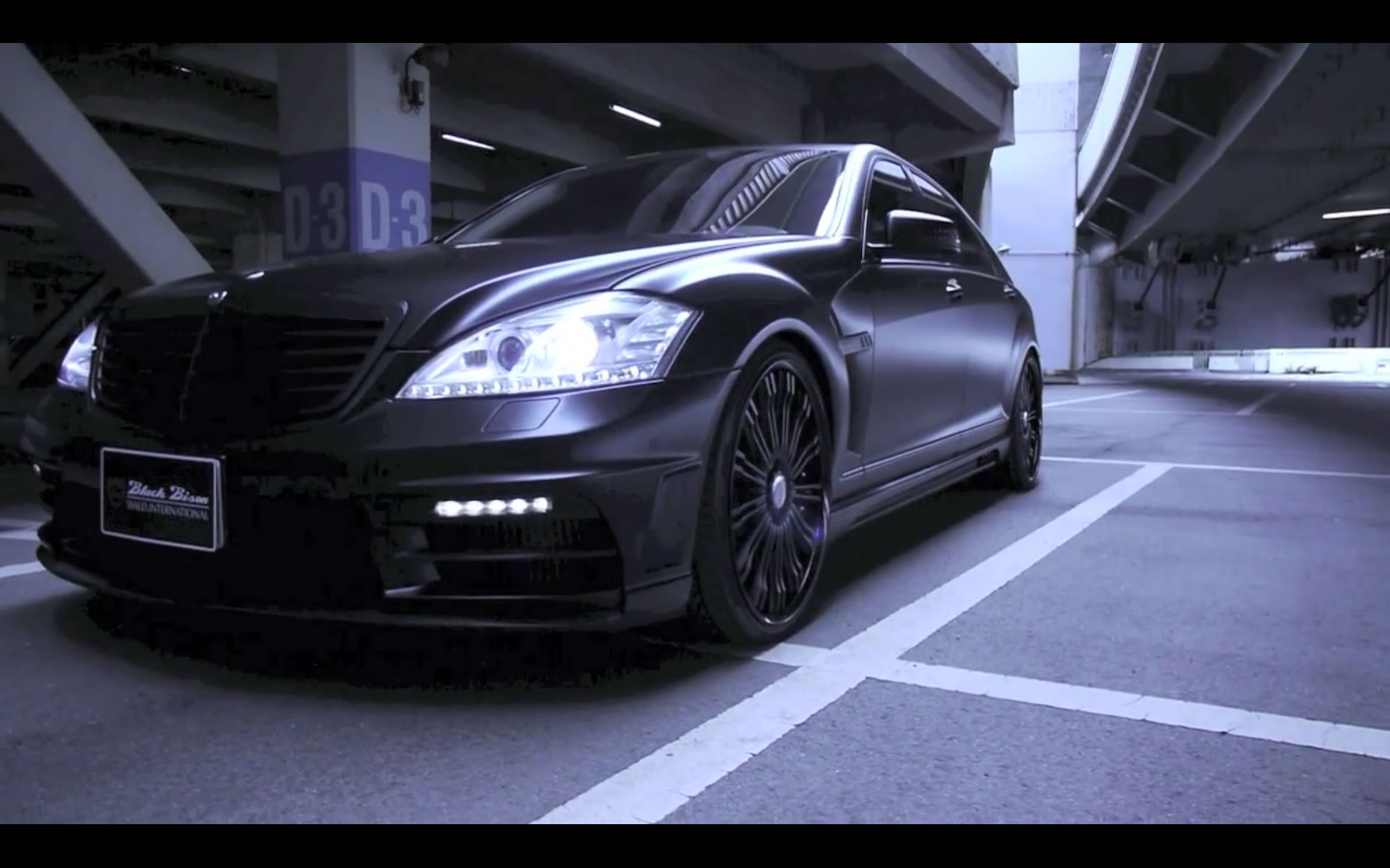 Wald Black Bison S-Class and CLS-Class