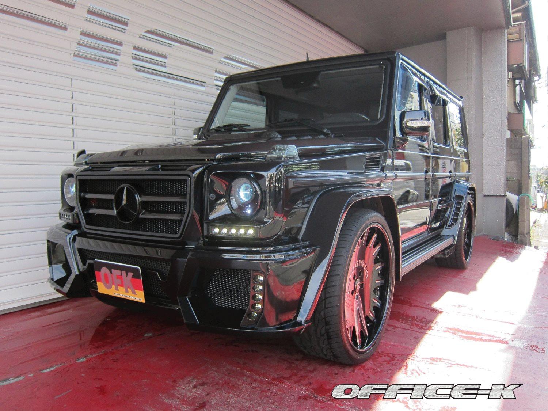 Mercedes G55 AMG Wald Black Bison by Office-K